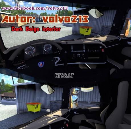 Scania-Dark-Beige-Interior