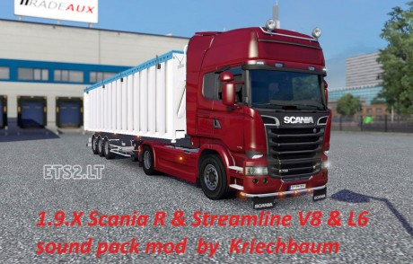 Scania-R-&-Streamline-V8-& L6-Sound-mod