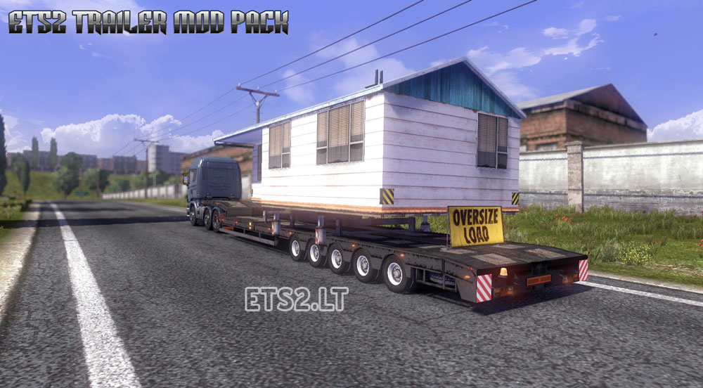 Trailer Mod Pack v 3.0 | ETS 2 mods