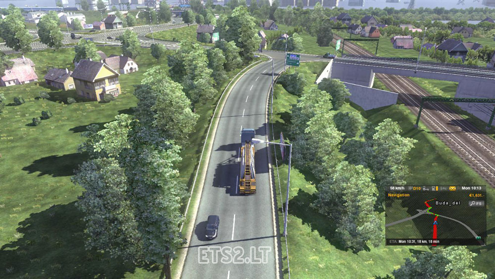 Simontornya Hungary  City pictures : Hungary Map v 0.9.21 | ETS 2 mods