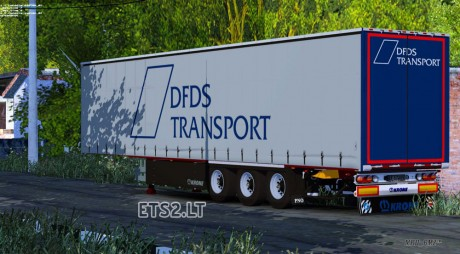 Krone-SDP-27-DFDS-Transport-Trailer