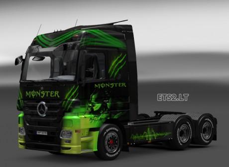 Mercedes-Actros-Monster-Skin