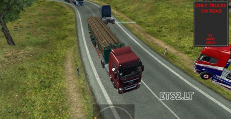 Only-Trucks-on-Road