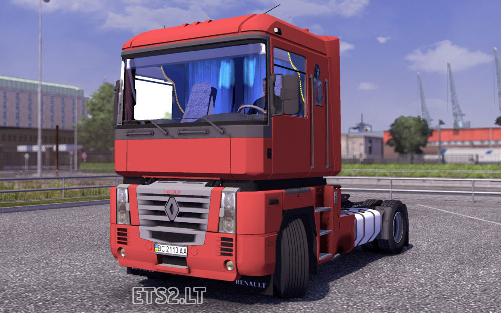 Renault Trucks Interior Renault Magnum Interior 1