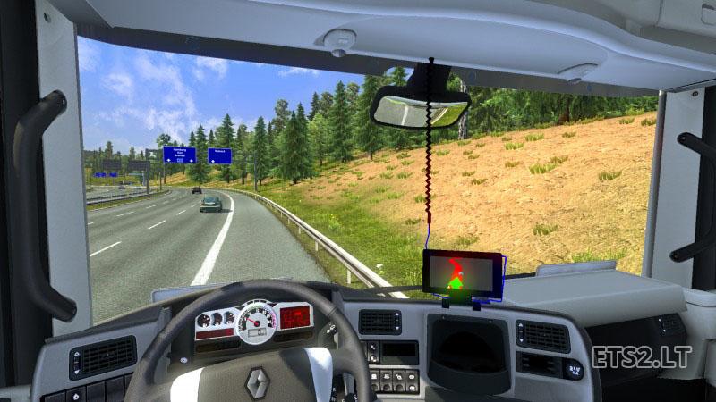 Renault Magnum Interior + GPS