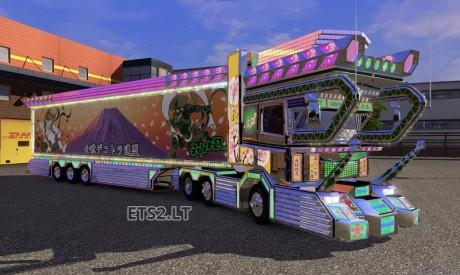 Scania-Dekotora+Trailer