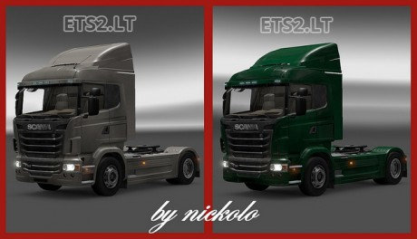 Scania-Spoiler