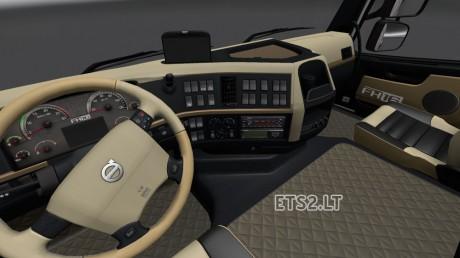 Volvo-FH-2009-Black-&-Beige-Interior-2