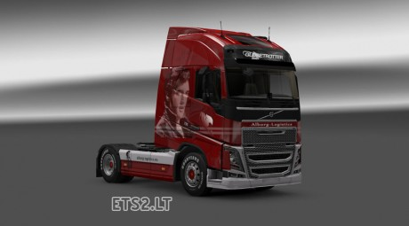 Volvo-FH-2012-Alborg-Logistics-Elvis-Skin-1