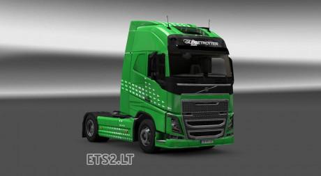 Volvo-FH-2012-Green-Arrow-Skin-1