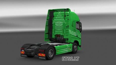 Volvo-FH-2012-Green-Arrow-Skin-2