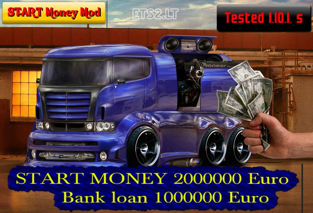 скачать моды для Euro Truck Simulator 2 на деньги 1000000000 через торрент - фото 10