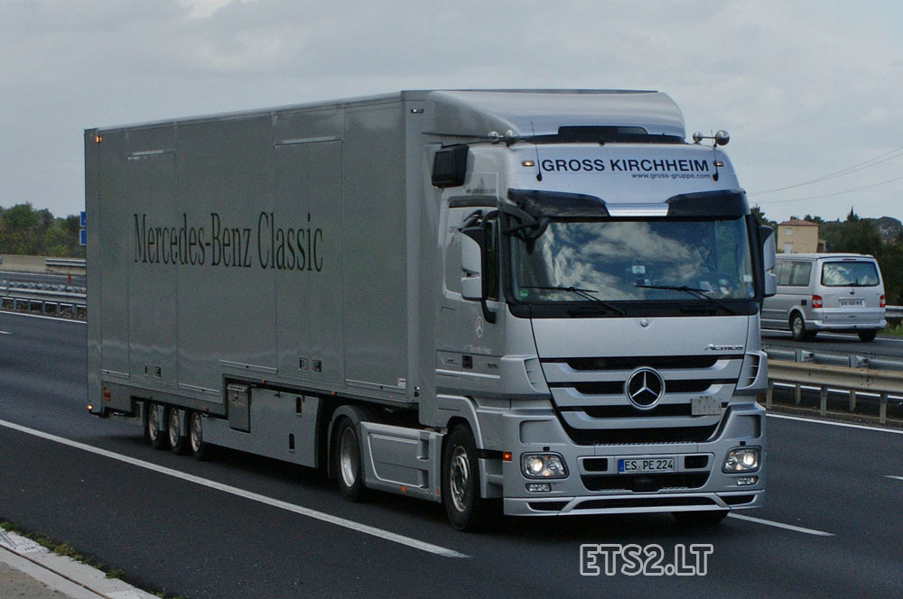 Mercedes benz actros sound mod ets 2 mods for Mercedes benz astros