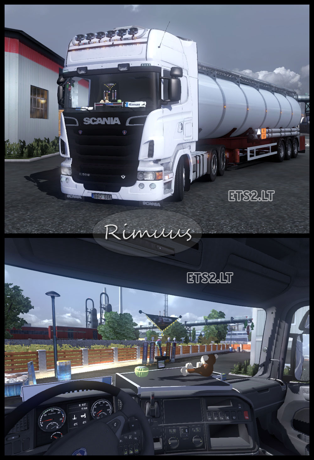 Scania R500 V8 | ETS 2 mods
