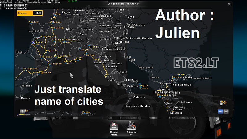 ets2 mods mapa portugal Translation of the names of cities TSM in French | ETS 2 mods ets2 mods mapa portugal