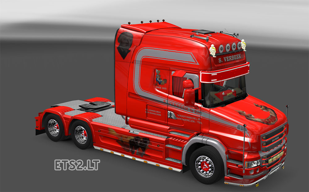 scania torpedo old and new skin ets 2 mods