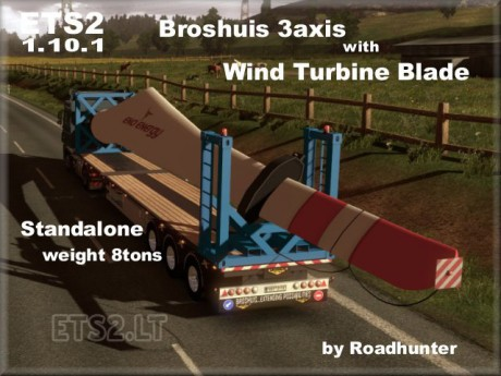 Broshuis-3-axis-Trailer-with-Wind-Turbine-Blade