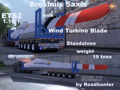 Broshuis-5-axis-Trailer-with-Wind-Turbine-Blade