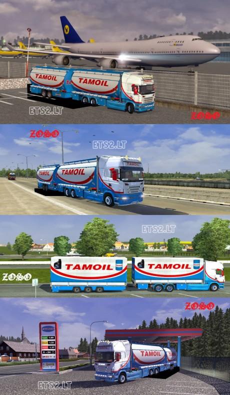 Scania-R-2009 Tamoil Tandem Pack