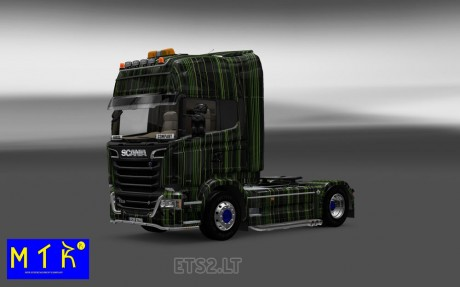 Scania-Streamline-Green-Stripes-Skin-