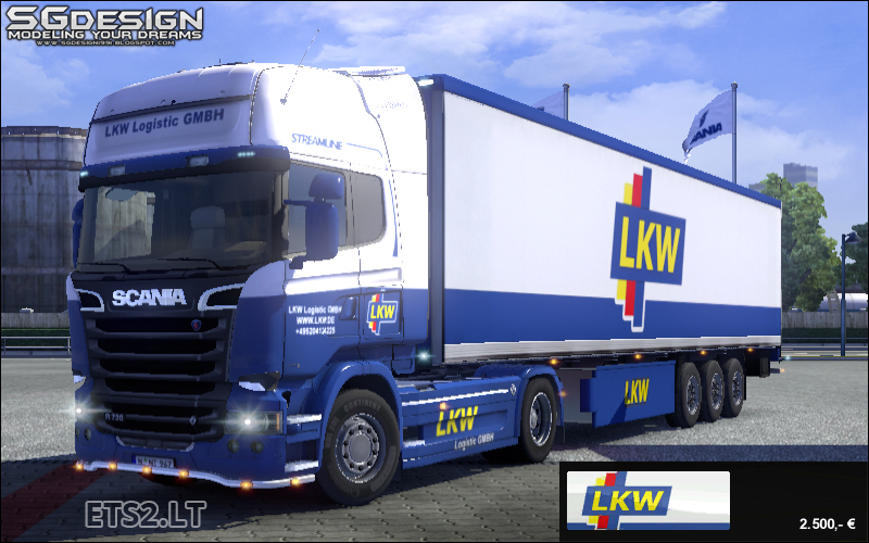 scania streamline lkw logistic skin ets 2 mods. Black Bedroom Furniture Sets. Home Design Ideas