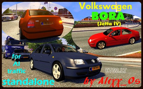 Volkswagen-Bora-AI-Traffic-Car