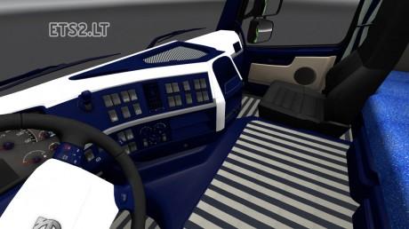 Volvo-FH-2009-Blue-&-White-Interior-2