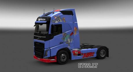 Volvo-FH-2012-Tom-&-Jerry-Skin-1