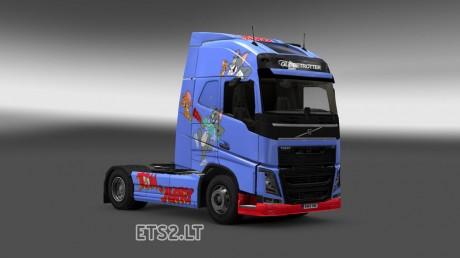Volvo-FH-2012-Tom-&-Jerry-Skin-2