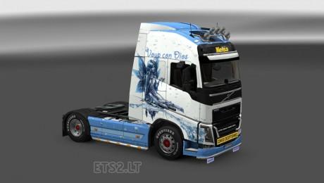 Volvo-FH-2012 Vaya-Con-Dios-Skin-1
