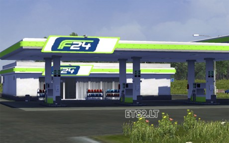 danish-gas-station