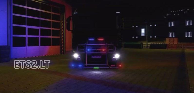 скачать мод неон для Euro Truck Simulator 2 - фото 8