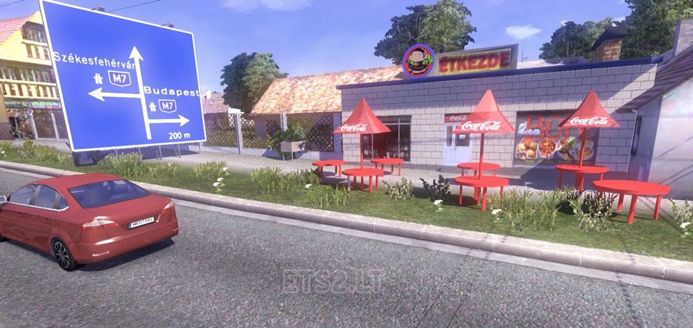 euro truck simulator 2 magyarország térkép mod Hungary Map v 0.9.22 | ETS 2 mods euro truck simulator 2 magyarország térkép mod