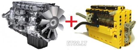 Kenworth-W-900-B-Long-Edition-Engine-Sound-Cummins-RPM-Cat-C-15-v-2.0