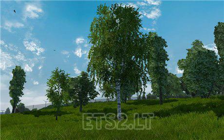 new vegetation ets 2 mods. Black Bedroom Furniture Sets. Home Design Ideas