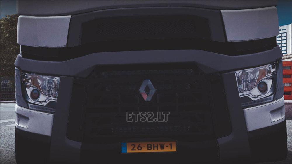 Renault range t 2 for Renault range t interieur