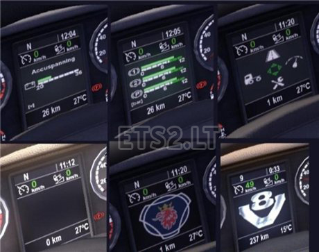 Scania-Information-Display