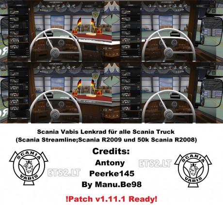 Vabis-Lenkrad-Steering-Wheel