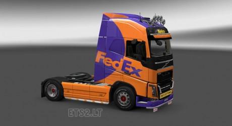 Volvo-FH-2012-Fedex-Skin-1
