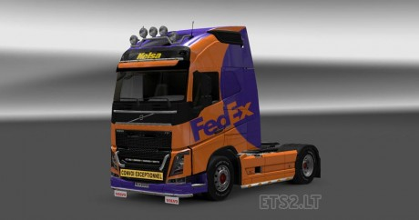 Volvo-FH-2012-Fedex-Skin-2