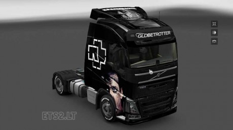 Volvo-FH-2012-Rammstein-Skin-1
