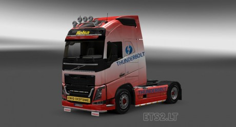 Volvo-FH-2012-Thunderbolt-Skin-1