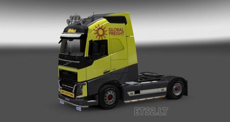 Volvo-FH-2012-Yellow-Grey-Skin-2