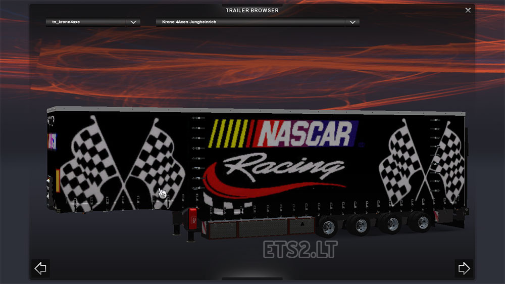 NASCAR Racing Trailers
