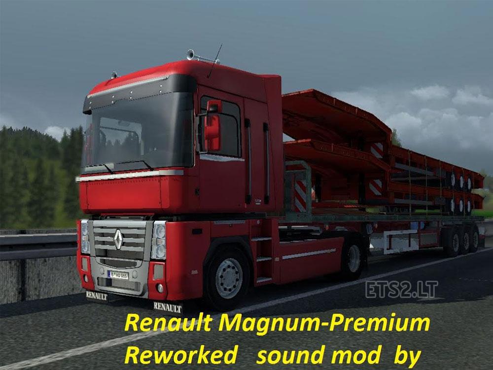 Renault Magnum Premium Reworked Sound Mod Ets 2 Mods