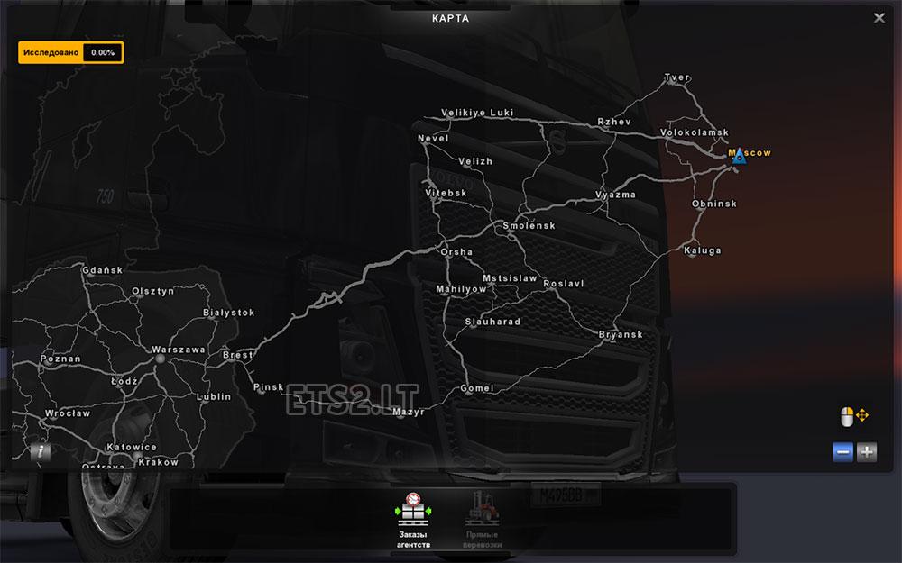 RusMap ETS Mods - R us map