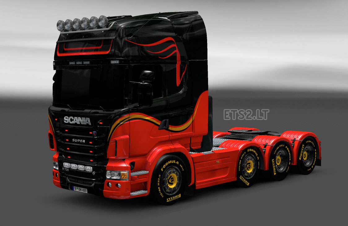Scania Fuse Box Location 24 Wiring Diagram Images 114 Bry Skin And Trailer Hail Combo Ets 2 Mods
