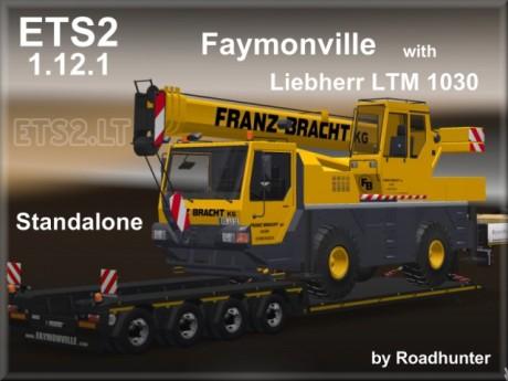 Faymonville-Megamax-4-axes-Trailer-with-Liebherr-LTM-1030