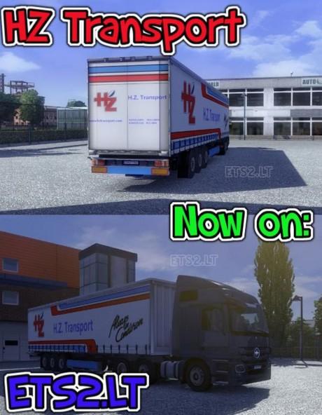 H.Z.-Transport-Trailer