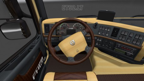 Volvo-FH-2009-Wood-Interior-1